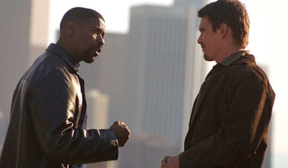 Denzel Washington and Ethan Hawke in Training Day (2001)