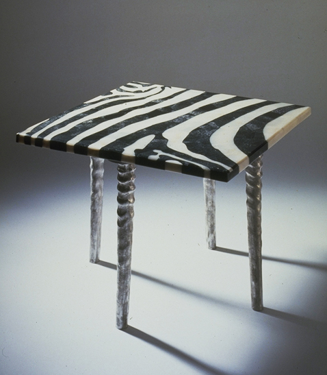 Zebra Table - Pietra Dura Collection