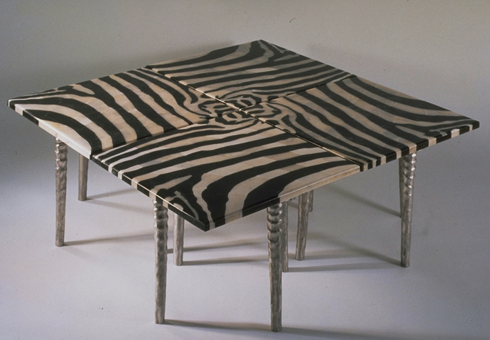 Zebra Tables -Pietra Dura Collection