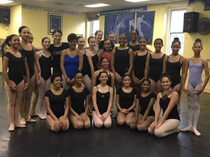 We had the pleasure of hosting a master ballet class for young dancers from across the island, taught by Complexions