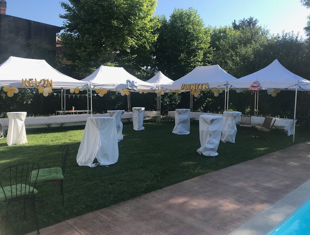 Location de tente, barnum et mobilier de réception pour tous type d'évenement particulier et professionnel