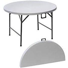 Location de table ronde diametre 180 cm et 150 cm Lyon