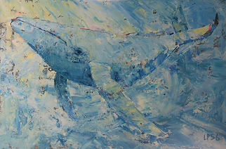 Leslie Pruneau - Find Me Beautiful...Humpback Whale.JPG