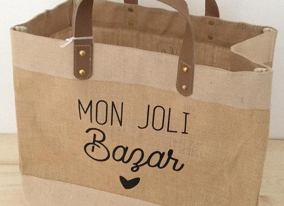 Cabas Mon joli bazar
