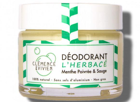 Déodorant naturel Menthe poivrée