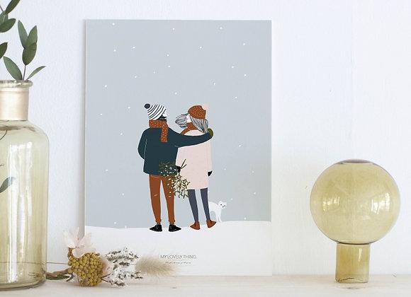 Affiche Laurette & Armand