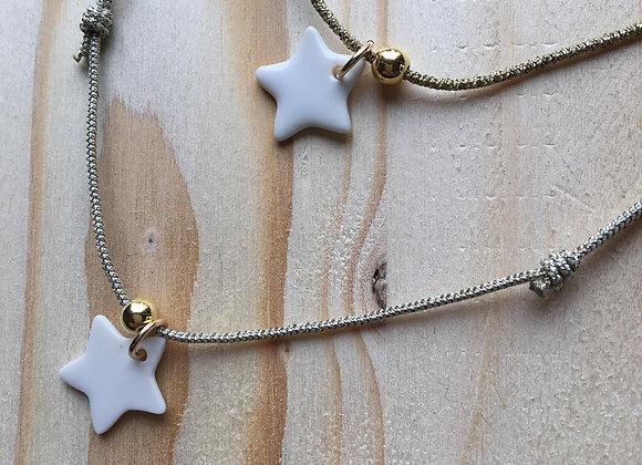Collier bracelet Triplette Étoile