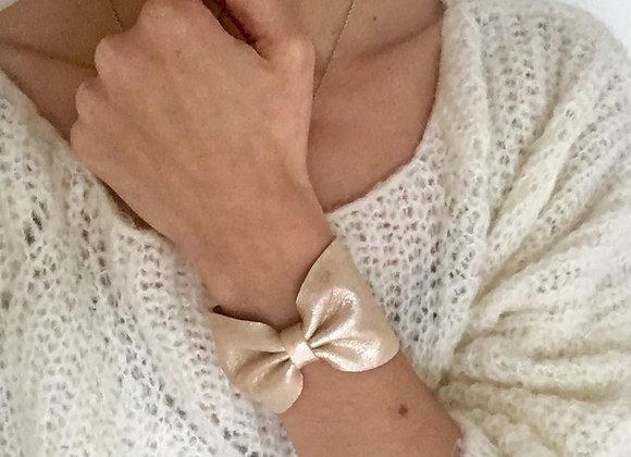 Bracelet manchette irisé