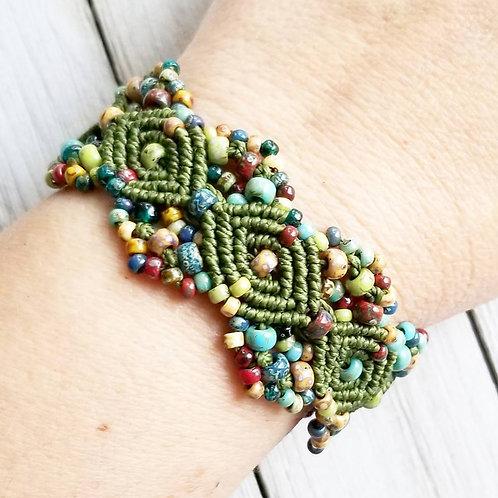 Greens/Autumn - Picasso Bracelets