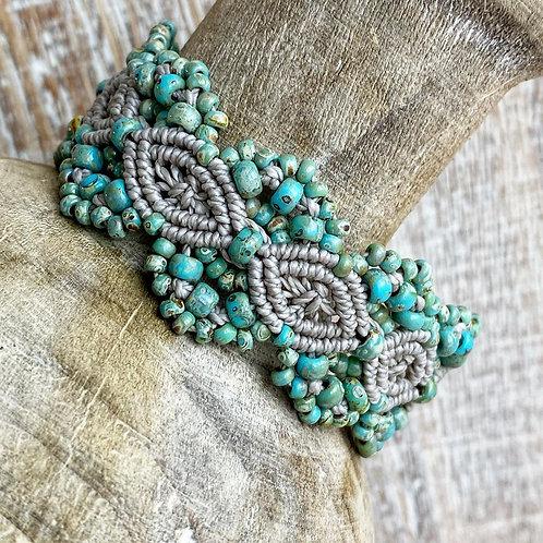Silver Lining - Floral Picasso Bracelet