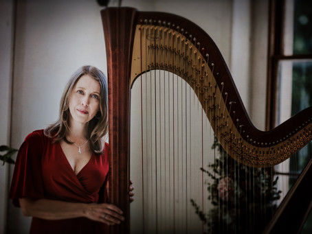 Getting to know the woman behind Nottinghamshire Harpist!