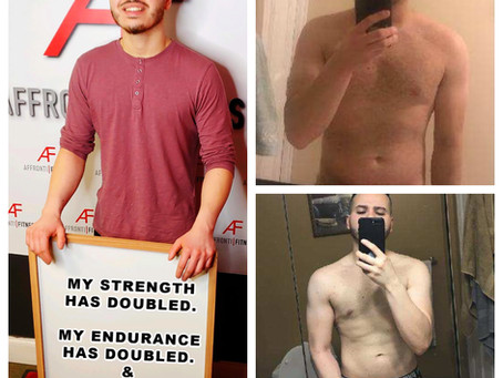 I'VE INCREASED MY STRENGTH, MY ENDURANCE & DROPPED 25LBS OF BODY FAT!