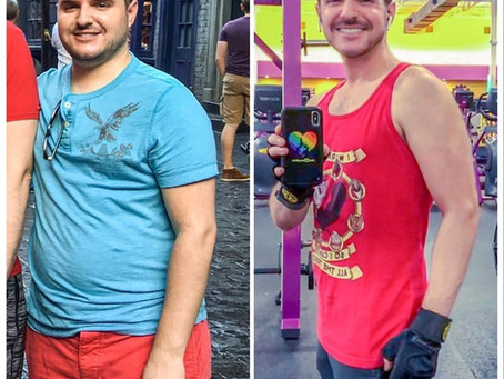 I'm down over 50 pounds from working out at Affronti Fitness!