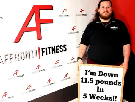 6 Week Challenge! Lost 11.5 LBS in 5 Weeks!
