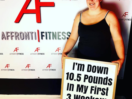 10.5  Pounds in my First 3 Weeks -  #6 Week Challenge!