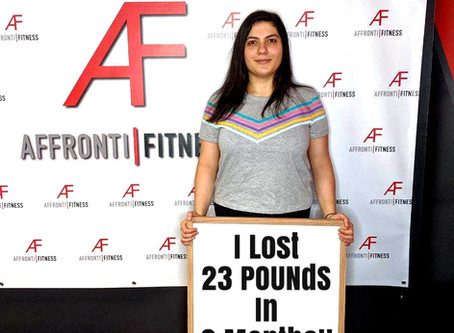 I LOST 23 POUNDS IN MY FIRST 2 MONTHS OF TRAINING!!!