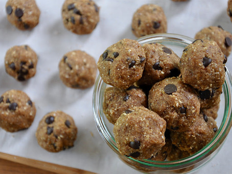 AF Healthy Recipe - Cookie Dough Balls