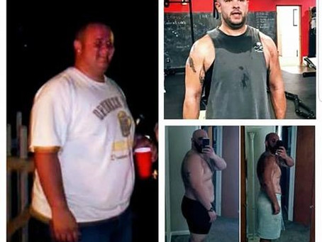 I've lost over 100 pounds and my whole life has changed!