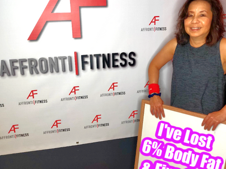 I lost 6% of my body fat & I fixed my posture!