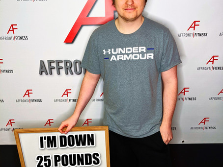 I've Lost 25LBS in Less Than 4 Months!!!