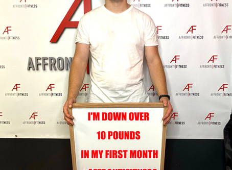 10 Pounds In My First Month!!!