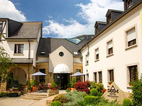 Reise ins Hotel Dahm nach Erpeldingen.