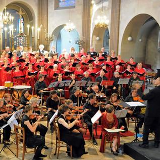 Fontainebleau, avec l'orchestre Philharmonique, 2011.