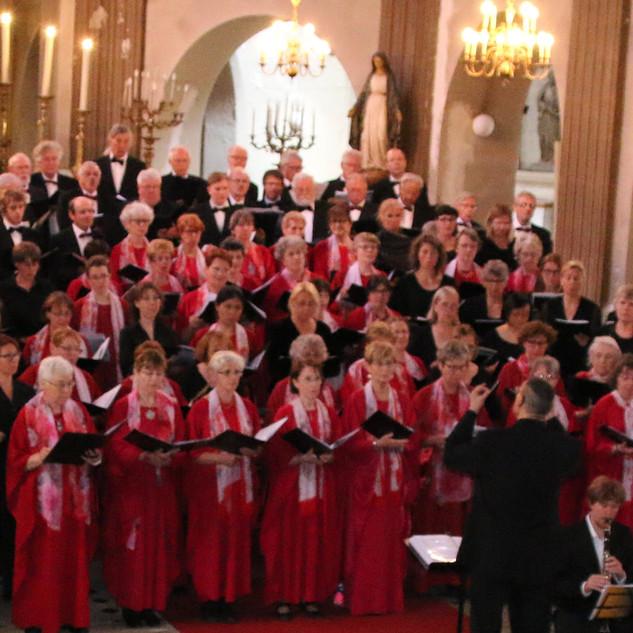 Fontainebleau, concert de jumelage le 23 mai 2015.
