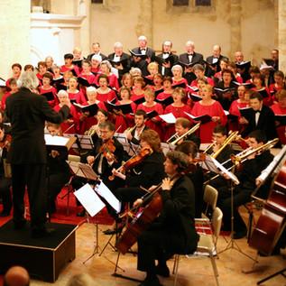 Ury en 2009 avec Musique à Portée.