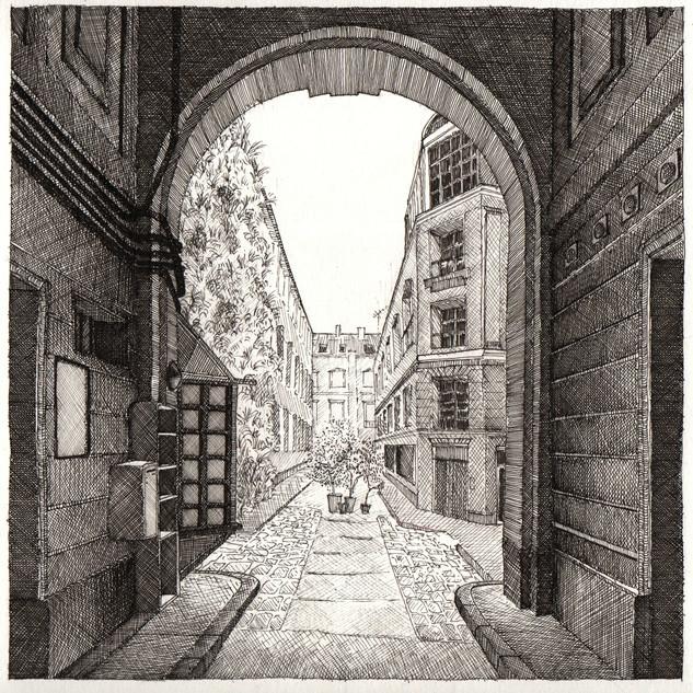 Portal no.4 - Horacio Ortiz De Ora, Fontainebleau, 2019