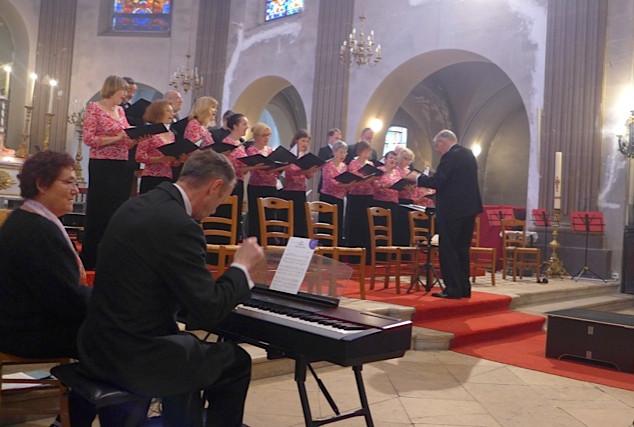 Les Cantati Camerati en concert à Saint-Louis, mai 2014.