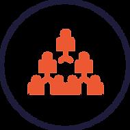 Pictogramme améliorer l'efficacité de l'organisation