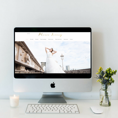 Branding and website design for Phairis Luxury in Palm Beach, FL by Luxe Lara Design