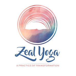 Logo design for Zeal Yoga in Jupiter, FL by Luxe Lara Design