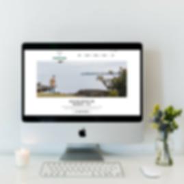 Website Design for Earthwalker Media in Jupiter, FL by Luxe Lara Design