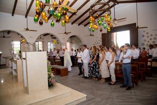 """Inauguración de la nueva Capilla  """"Nuestra Señora de Guadalupe""""  en Bahia Principe Riviera Maya Reso"""