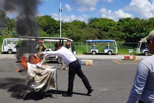 Bahia Principe Riviera Maya Resort en conjunto con  El cuerpo de Bomberos del Municipio de Tulum  ca