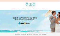 Página web Cancun Wedding experience