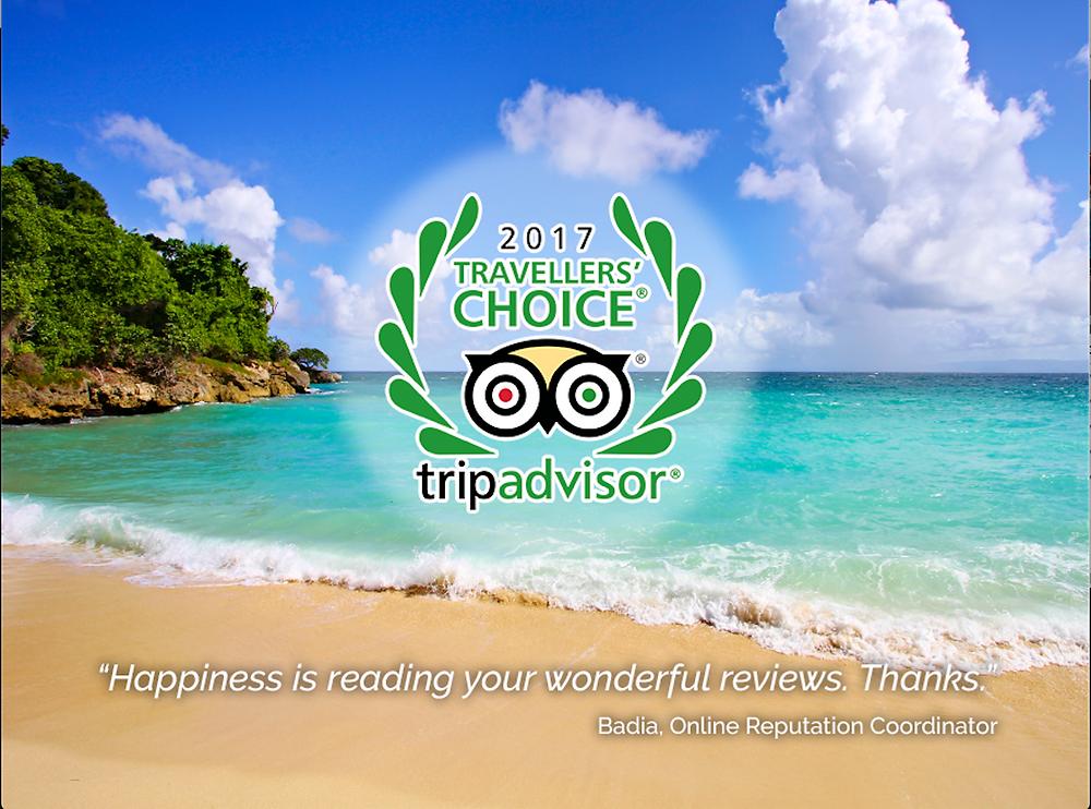 TripAdvisor otorga a los hoteles Bahia Principe El Certificado de Excelencia 2017