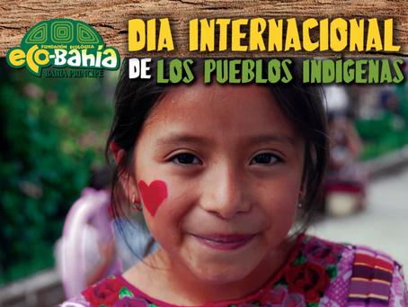 La Fundación Eco-Bahía conmemora el  Día Internacional de los Pueblos Indígenas