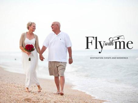 Haz algo especial este 14 de febrero  Fly with me & Renueva tus votos a la orilla del mar.