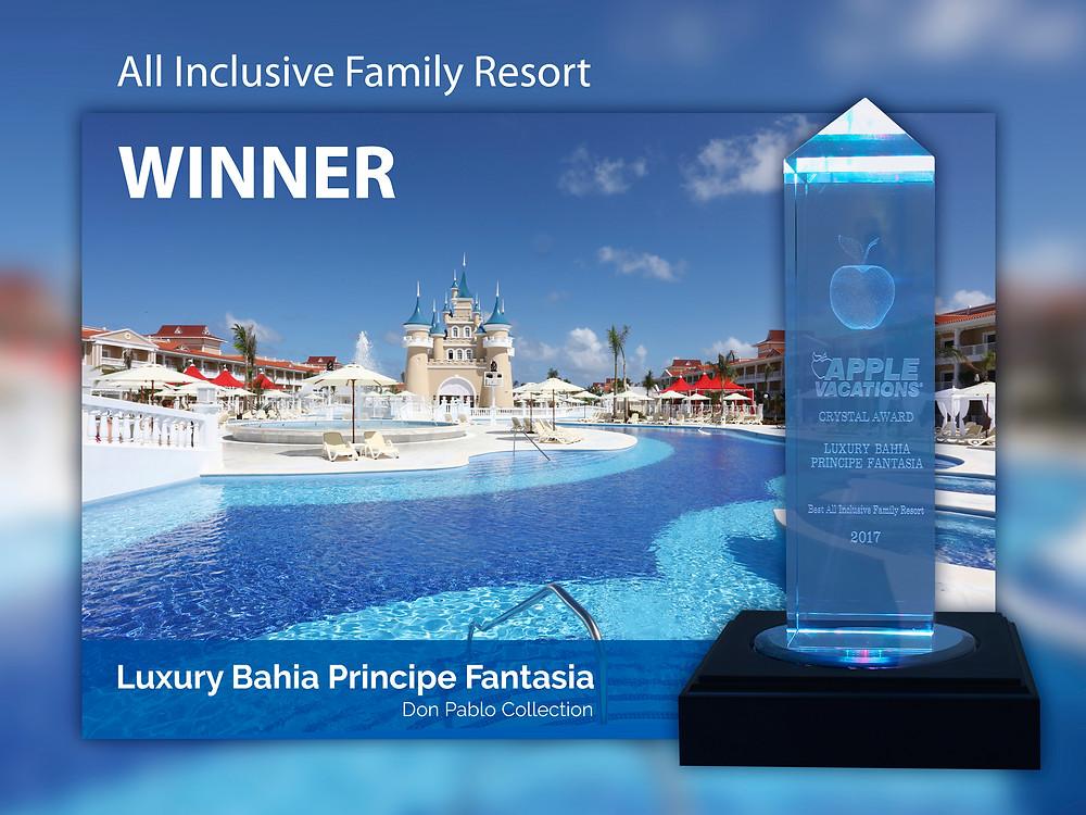 Crystal Award de Apple Vacations