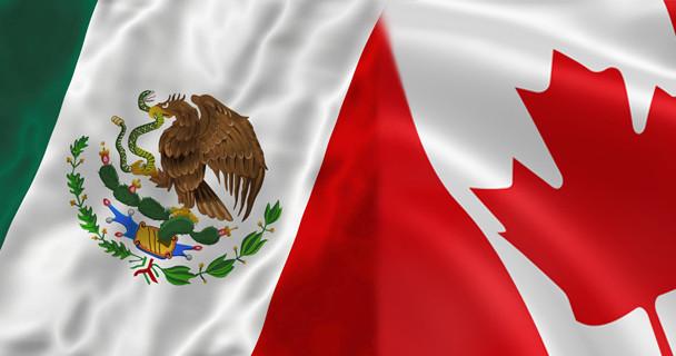 Visitantes canadienses en México Bahia Principe