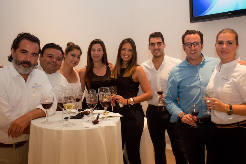 Cata de vinos en la Casa Club de Riviera Maya