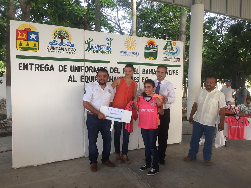 Donación Bahia Principe Riviera Maya Resort