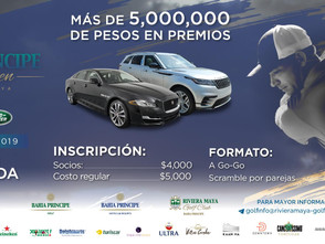 """Riviera Maya Golf Club en colaboración con Jaguar y Land Rover te invitan a participar en """"Bahia Pri"""
