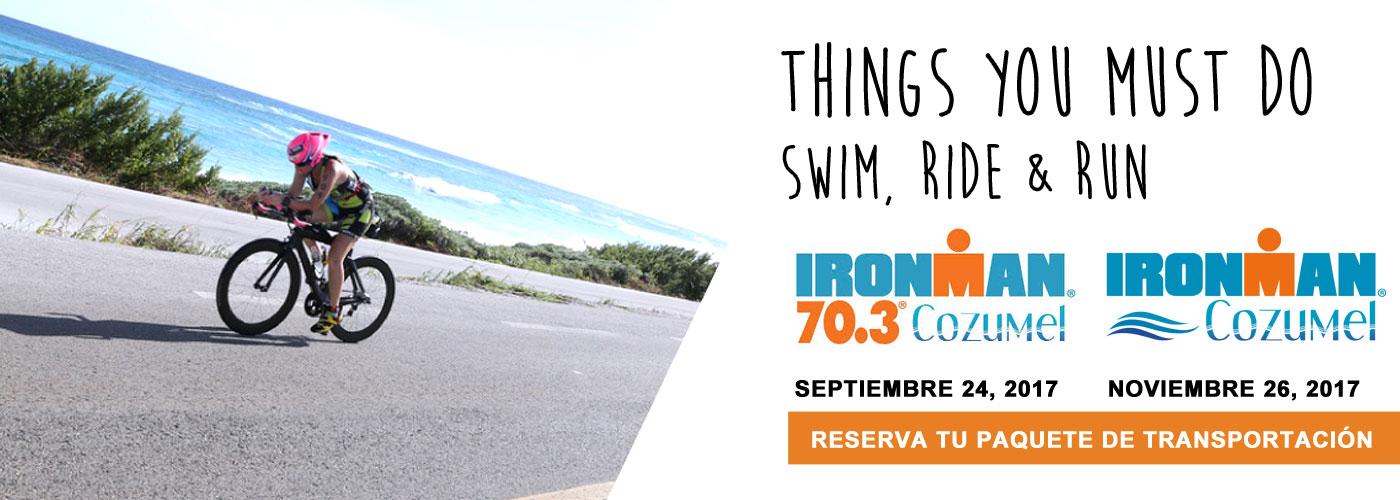 Promoción Ironman Kravans