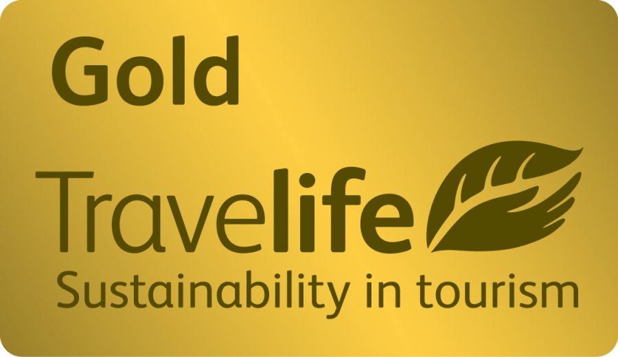 Gold Travelife sutainability in tourism