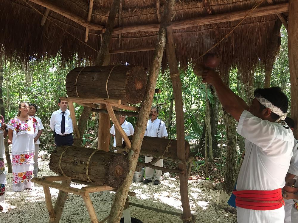 Ritual abeja melipona Bahia Principe Riviera Maya Resort