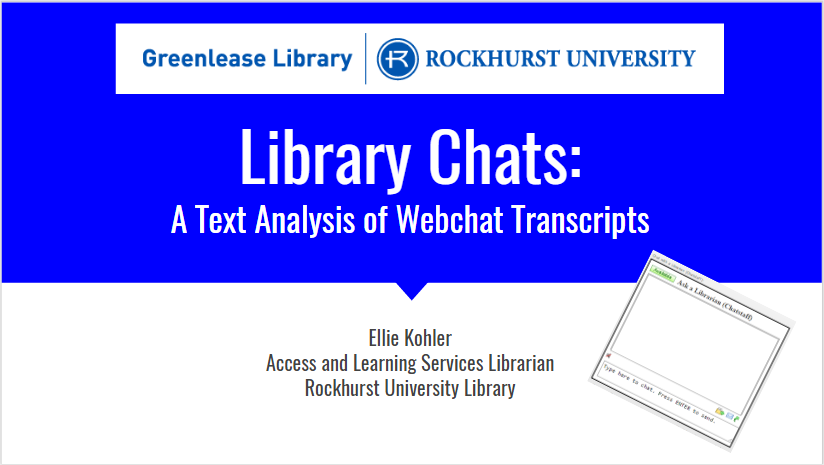Analysis of Library Webchats